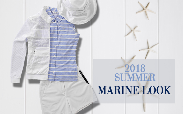 2018 SUMMER MARINE LOOK